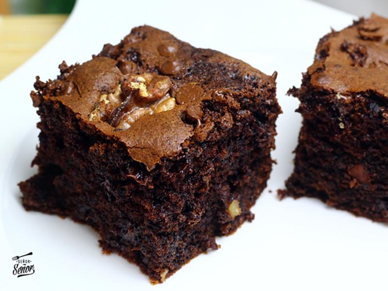Brownie de chocolate con Sucralin by Xavier Lahuerta