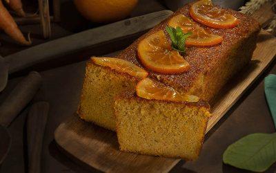 Receta del pastel de zanahoria y almendra o Rüeblitorte con Sucralín